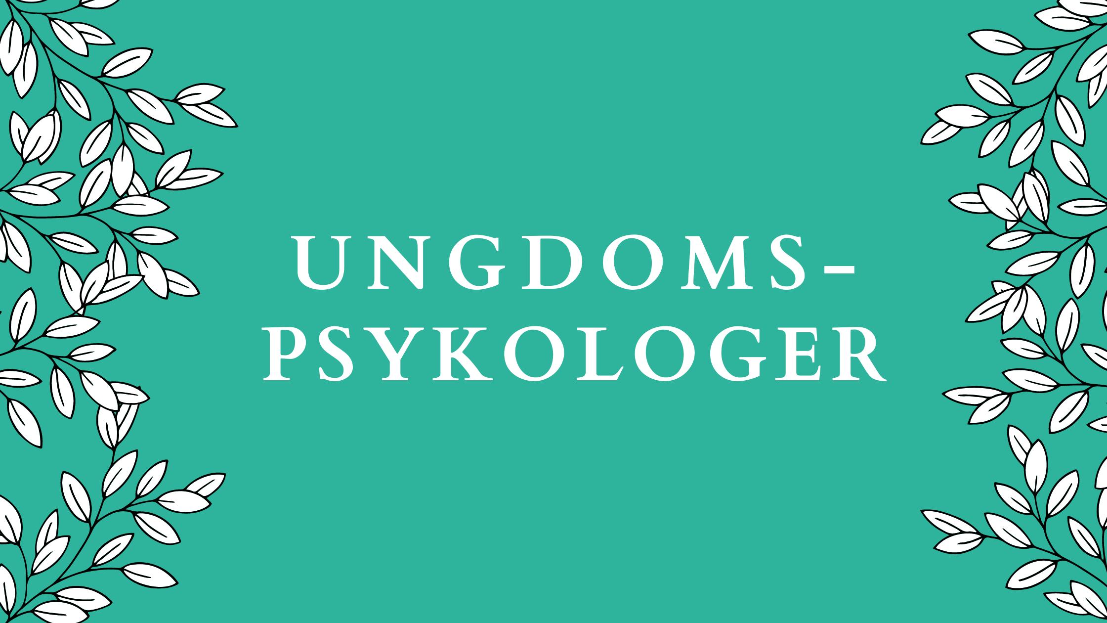 Ungdomspsykologer i Danmark